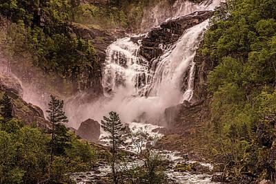 Photograph - Nyastolfossen by Josh Bryant