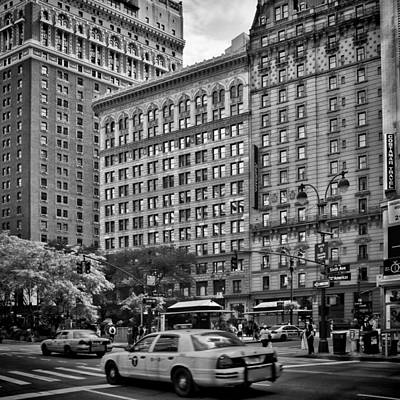 Crosswalks Photograph - Nyc 6th Avenue by Melanie Viola