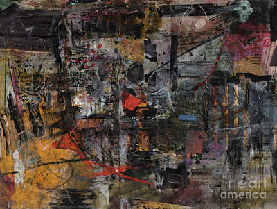 Painting - Nyc Abstract by Robert Anderson