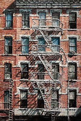Painting - N Y C Apartment On 9th Ave by Joey Agbayani