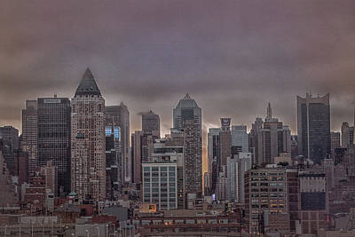 Photograph - Nyc At Dawn by Elvira Pinkhas