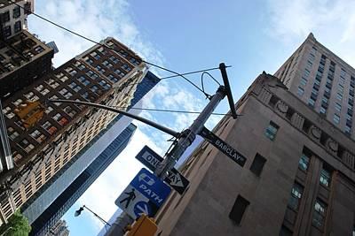 Photograph - Nyc - Barclay Street Corner by Matt Harang