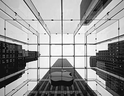 Avenue Photograph - Nyc Big Apple II by Nina Papiorek
