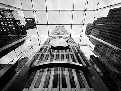 Square Photograph - Nyc Big Apple by Nina Papiorek