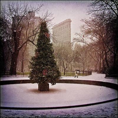 Photograph - Nyc Christmas by Chris Lord