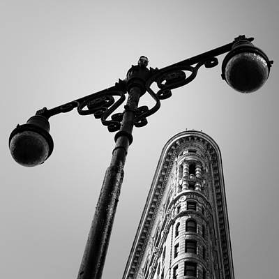 Iron Photograph - Nyc Flat Iron by Nina Papiorek