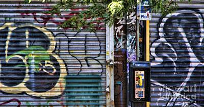 Nyc Graffiti II Art Print
