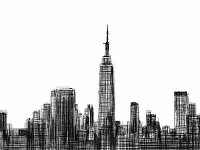 Nyc Digital Art - NYC by Harold Belarmino