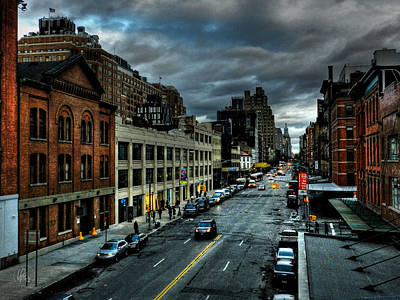 Greenwich Photograph - Nyc - High Line - Meatpacking District 002 by Lance Vaughn