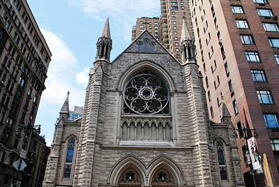 Photograph - Nyc Holy Trinity Church by Matt Harang