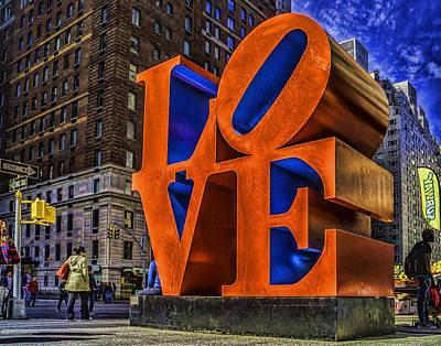 Photograph - Nyc Love by Nick Zelinsky