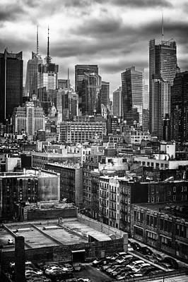 NYC Art Print by Mauricio Jimenez