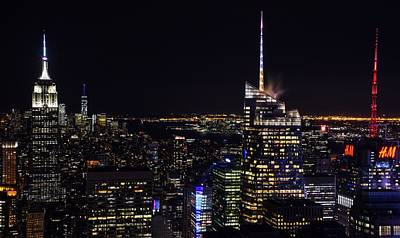 Photograph - Nyc Nights 2 by Rand