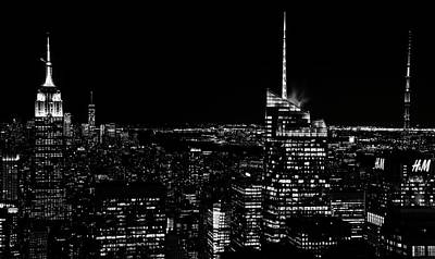 Photograph - Nyc Nights by Rand