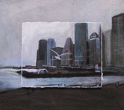 Nyc Pier 11 Layered Original