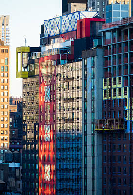 Photograph - Nyc Reflections by Alan Roberts