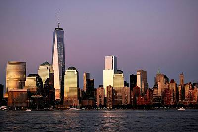 Photograph - Nyc Skyline At Dusk by Matt Harang