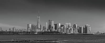 Photograph - Nyc Skyline by Daniel Carvalho