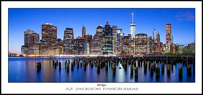 Central Park Photograph - Nyc Skyline Poster Print by Az Jackson