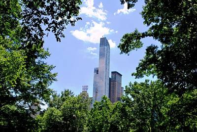 Photograph - Nyc Skyscraper From Central Park by Matt Harang