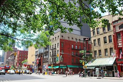 Photograph - Nyc Street View -trees Overhanging by Matt Harang