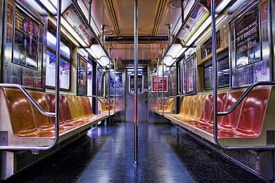Nyc Subway Art Print by Kelley King