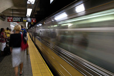 Photograph - Nyc Subway by Sebastian Musial