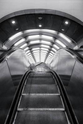 Photograph - Nyc Subway Station by Susan Candelario