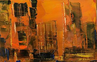 Painting - New York City Before The Storm by Ward