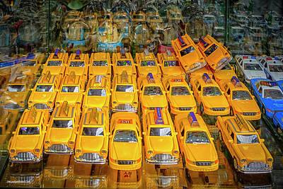 Photograph - Nyc Taxi Jam by LeeAnn McLaneGoetz McLaneGoetzStudioLLCcom