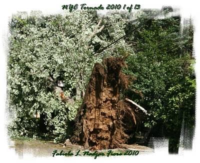 Nyc Mixed Media - Nyc Tornado 1 Of 13 by Fabiola L Nadjar Fiore