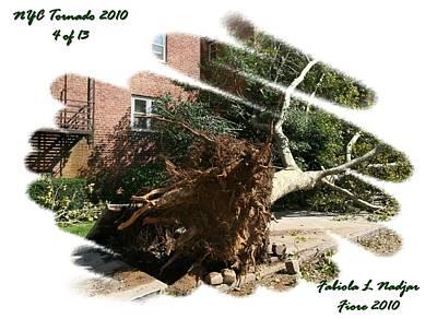 Nyc Mixed Media - Nyc Tornado 4 Of 13 by Fabiola L Nadjar Fiore