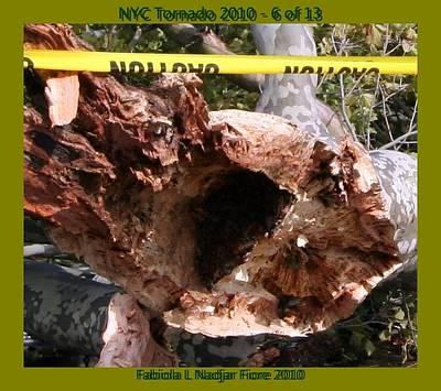 Nyc Mixed Media - Nyc Tornado 6 Of 13 by Fabiola L Nadjar Fiore