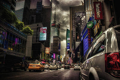 Torch River Photograph - Nyc Traffic by Martin Newman