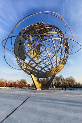 New York City Photograph - Nyc Unisphere - Earth Day by Susan Candelario