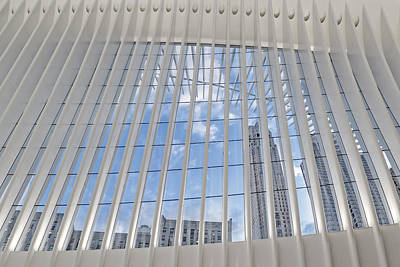 Photograph - Nyc View From Wtc Oculus by Susan Candelario