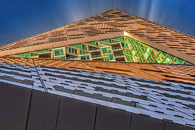 Art Print featuring the photograph Nyc West 57 St Pyramid by Susan Candelario