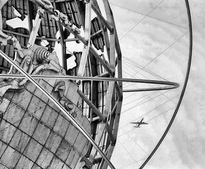 Nyc Worlds Fair 1964 Today Art Print by Chuck Kuhn