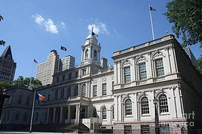 Photograph - Nyc's City Hall by John Telfer