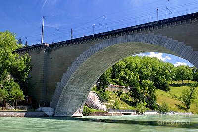 Photograph - Nydeggbruecke In Bern by Michelle Meenawong
