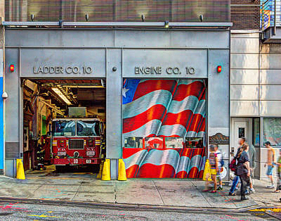 Photograph - Nyfd 024 by Jeff Stallard