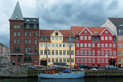 Photograph - Nyhavn 2 Copenhagen by Steven Richman