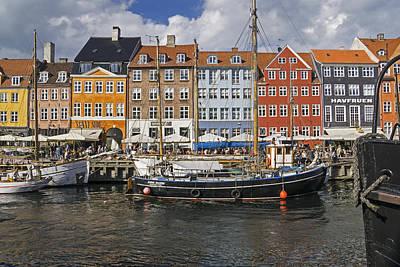 Photograph - Nyhavn Copenhagen by Inge Riis McDonald