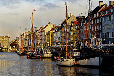 Photograph - Nyhavn Morning - 365-236 by Inge Riis McDonald