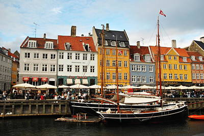 Photograph - Nyhavn Waterfront by Jacqueline M Lewis