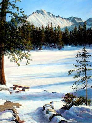 Painting - Nymph Lake by Mary Giacomini