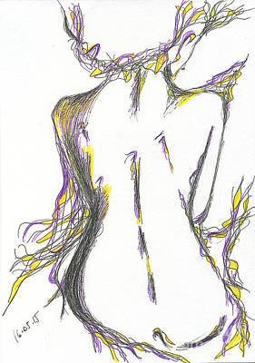 Proportions Drawing - nymph. 16 May, 2015 by Tatiana Chernyavskaya