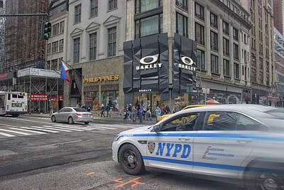 New York Cops Photograph - Nypd by Martin Newman