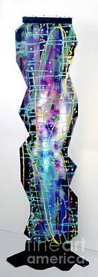 Nyx - Night Goddess Art Print by Mordecai Colodner