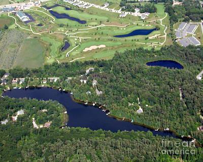 Photograph - O-001 Otter Lake Chain O Lakes Waupaca by Bill Lang